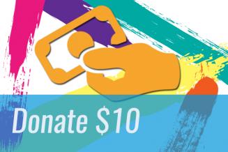 Donate $10